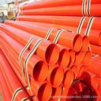给水管道专用涂塑钢管 环氧树脂粉末管 热浸塑钢钢管 销售低价