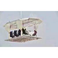 高空视觉景观灯光节产品出租场地布展空中餐厅设备租赁