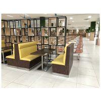大型快餐桌椅制造商工厂现货供应质保3年不夸张!