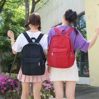 韩国新款马卡龙色学院学生双肩包情侣背包时尚校园百搭休闲包