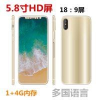 新款I8X 5.8寸一体机18:9全屏 3G智能手机 超薄低价外单手机批发