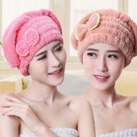 洗头干发帽浴巾快干毛巾帽擦头发超强吸水速干加厚长包头浴帽女
