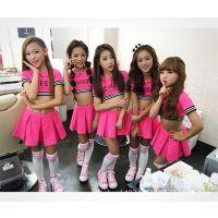 六一儿童表演服 啦啦操演出服儿童啦啦队服装幼儿舞蹈服装体操服