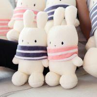 批发可爱波波兔子毛绒玩具布娃娃玩偶抱枕公仔儿童节生日礼物女生