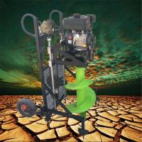 启航多功能植树挖坑机 果园施肥挖眼机 安装路灯专用挖坑机型号