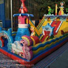 河南郑州广场儿童充气滑梯蹦蹦床现货 心悦充气气包被划破如何修补