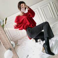 哥邦品牌原单尾货女装 广州贝左品牌女装折扣批发的自频道尾货粉色羽绒服