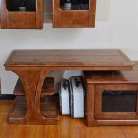 顶狭面开层座架 百色搭边柜简架 崇左现代实木家具