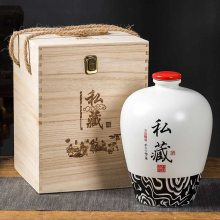 建源酒瓶陶瓷厂 陶瓷2斤3斤5斤青花瓷空酒坛 家用复古小酒壶厂家定制