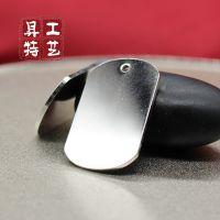 厂家直销奔驰汽车钥匙挂件 金属车标钥匙扣 金属银电镀