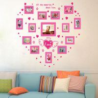 可移除防水自粘照片墙贴批发创意客厅卧室背景壁画照片墙AM923