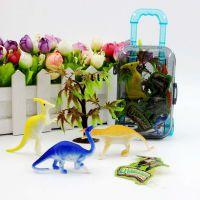 创意儿童玩具幼儿园男孩恐龙行李箱过家家女孩公主化妆饰品拉杆箱