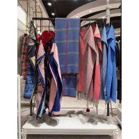 羊绒围巾18冬时尚百搭品牌折扣女装广州三荟一手货源