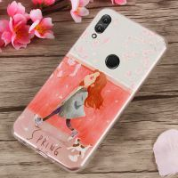 华为荣耀10青春版手机壳honor 10lite手机保护套 个性创意新款日韩