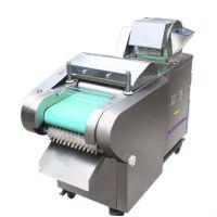 多功能蔬菜切割机 双头切菜机 输送带式大白菜切段机