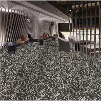 孟州宾馆地毯厂家 喜来登酒店地毯设计定制服务