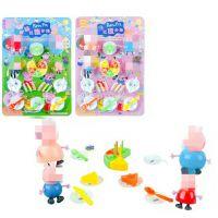 厂家直销小猪切蛋糕板装玩具儿童餐具厨房过家家玩具批发9元9货源