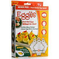 egglettes TV热销产品 蛋清分离器  蒸煮蛋器 六个装硅胶煮蛋器