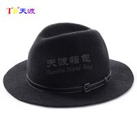 eva成人牛仔帽 复古英伦风爵士帽 EVA热压帽子厂家直销2018新款