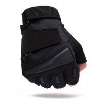 BRS运动半指手套男军迷春夏户外用战术手套健身防滑耐磨骑行手套