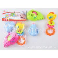 厂家直销 婴儿摇铃(3只装) 婴儿益智玩具 儿童玩具