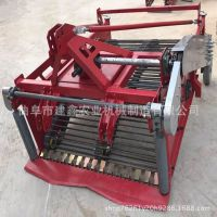 亳州小型地瓜收获机红薯挖掘机拖拉机带动新款挖洋芋机器杀秧机