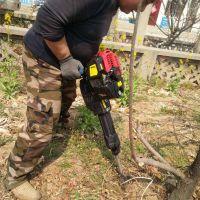 供应铲头式断根起树机 大马力铲式移树机 轻便的挖树机