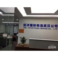 武汉巡洋国际物流公司提供长江沿线集装箱海运订舱拖车报关仓储一条龙