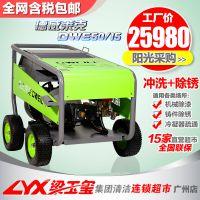 德威莱克电动超高压冷热水清洗机500公斤工业大功率高压清洗机