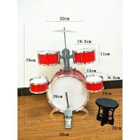 厂家直销仿真大号架子鼓套装 早教益智爵士鼓 敲击乐器儿童玩具