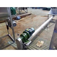 无轴螺旋输送机安装多用途 螺旋提升机送料机