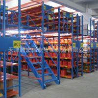 厂家直销定做组合阁楼货架 定制重型平台货架货架厂阁楼式货架