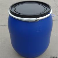 60L抱箍桶批发60公斤化工桶60升蓝色塑料桶