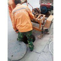 东莞小型掏挖污水井机器 小型掏下水井淤泥机器gco