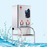 宏华电热开水器 ZDK-6商用电控热水机 35L开水机 食堂饮水设备 员工饮水机