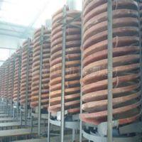 供应厂家直销玻璃钢螺旋流槽 BLL-1500A螺旋溜槽 大型成套螺旋溜槽厂