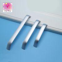 实心太空铝橱柜拉手银色把手铝合金家具配件