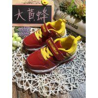 大黄蜂品牌儿童系列鞋子品牌折扣尾货工厂货源批发走份