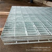 供应热镀锌踏步钢格栅盖板 钢格板厂家直销楼梯镀锌钢格水沟板