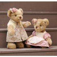 一件代发包邮正版可爱五关节泰迪熊麋鹿熊公仔毛绒玩具公仔生日礼