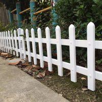 路边塑钢护栏 草池塑钢围栏 树坑小护栏价格