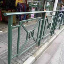 儋州梅花型管市政护栏规格 天涯人行道路锌钢护栏安全隔离栅