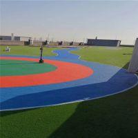 假草坪 足球场人工草皮 5公分人造草坪需要填充物 2米宽幅 25米长邵阳厂家直销
