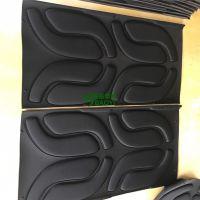 黑色环保eva雕刻内衬 异型eva热压一体成型 38度eva泡棉包装