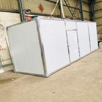 润泽厂家现场设计烘干房 热风循环自动排湿药材烘干设备 质优价廉