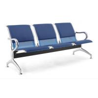 多人位烤漆款飞机场排椅,厂家直销简约款机场金属排椅带茶几