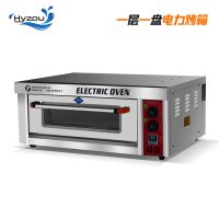 厂家直销 商用一层一盘电烤箱 不锈钢面包烤箱 烤蛋糕月饼披萨烤炉