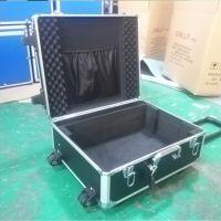 厂家直销小型铝合金拉杆箱 便携式拉杆设备箱 加工定制仪器箱