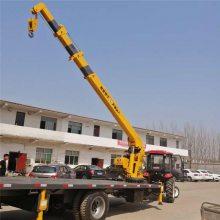 济宁12吨拖拉机平板吊_随车吊价格行情_二手拖拉机改动随车吊厂家
