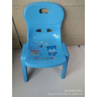 批发销售家用儿童塑料靠背椅子 幼儿园专用椅 宝宝靠背凳子